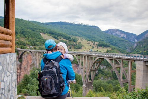 What must carry while traveling with baby